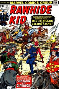 Cover Thumbnail for The Rawhide Kid (Marvel, 1960 series) #132