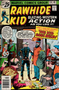 Cover Thumbnail for The Rawhide Kid (Marvel, 1960 series) #134