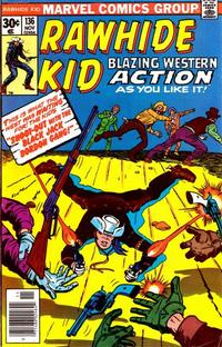 Cover Thumbnail for The Rawhide Kid (Marvel, 1960 series) #136