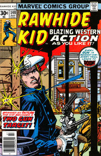 Cover Thumbnail for The Rawhide Kid (Marvel, 1960 series) #140 [30 cent cover price]