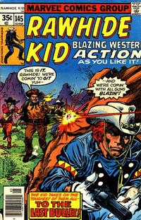 Cover Thumbnail for The Rawhide Kid (Marvel, 1960 series) #145