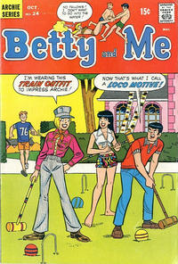 Cover Thumbnail for Betty and Me (Archie, 1965 series) #24