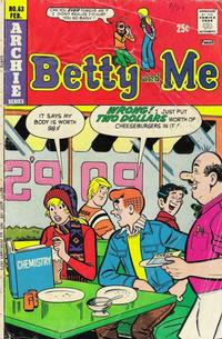 Cover Thumbnail for Betty and Me (Archie, 1965 series) #63