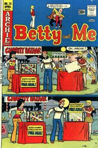 Cover Thumbnail for Betty and Me (Archie, 1965 series) #74