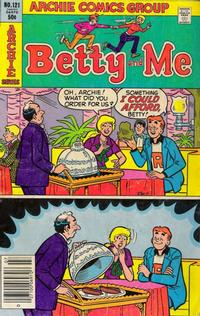 Cover for Betty and Me (Archie, 1965 series) #121
