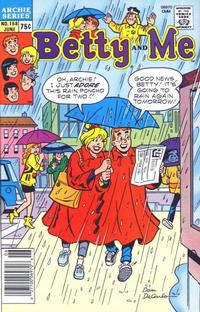 Cover Thumbnail for Betty and Me (Archie, 1965 series) #158