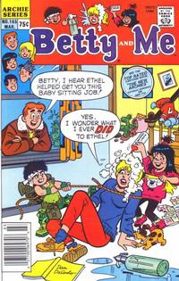 Cover Thumbnail for Betty and Me (Archie, 1965 series) #165
