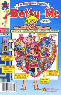 Cover Thumbnail for Betty and Me (Archie, 1965 series) #197