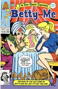 Cover Thumbnail for Betty and Me (Archie, 1965 series) #200 [Direct]