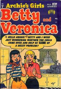 Cover Thumbnail for Archie's Girls Betty and Veronica (Archie, 1950 series) #7