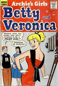 Cover Thumbnail for Archie's Girls Betty and Veronica (Archie, 1950 series) #42