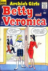 Cover Thumbnail for Archie's Girls Betty and Veronica (Archie, 1950 series) #55