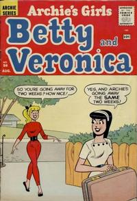 Cover Thumbnail for Archie's Girls Betty and Veronica (Archie, 1950 series) #56