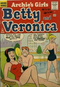 Cover Thumbnail for Archie's Girls Betty and Veronica (Archie, 1950 series) #68