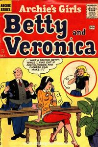 Cover Thumbnail for Archie's Girls Betty and Veronica (Archie, 1950 series) #72
