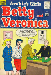 Cover Thumbnail for Archie's Girls Betty and Veronica (Archie, 1950 series) #99
