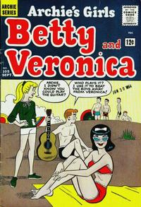 Cover Thumbnail for Archie's Girls Betty and Veronica (Archie, 1950 series) #105