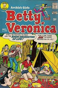 Cover Thumbnail for Archie's Girls Betty and Veronica (Archie, 1950 series) #213