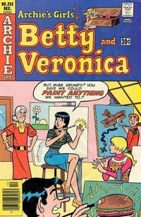 Cover Thumbnail for Archie's Girls Betty and Veronica (Archie, 1950 series) #252