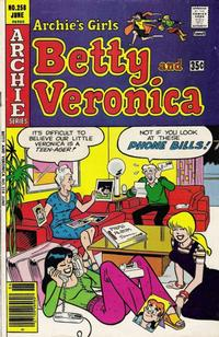 Cover Thumbnail for Archie's Girls Betty and Veronica (Archie, 1950 series) #258