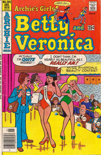 Cover Thumbnail for Archie's Girls Betty and Veronica (Archie, 1950 series) #265