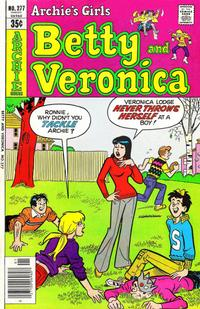 Cover Thumbnail for Archie's Girls Betty and Veronica (Archie, 1950 series) #277