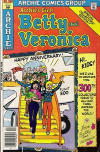 Cover Thumbnail for Archie's Girls Betty and Veronica (Archie, 1950 series) #300