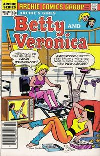 Cover Thumbnail for Archie's Girls Betty and Veronica (Archie, 1950 series) #340