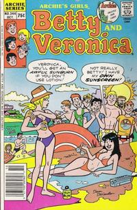 Cover Thumbnail for Archie's Girls Betty and Veronica (Archie, 1950 series) #344
