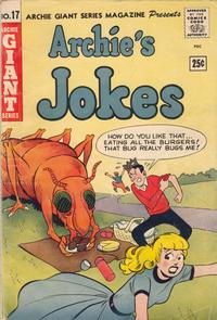 Cover Thumbnail for Archie Giant Series Magazine (Archie, 1954 series) #17