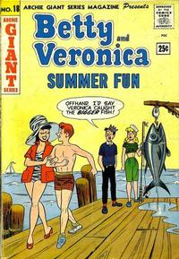 Cover Thumbnail for Archie Giant Series Magazine (Archie, 1954 series) #18