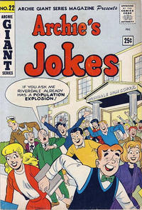 Cover Thumbnail for Archie Giant Series Magazine (Archie, 1954 series) #22