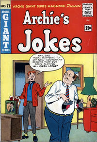 Cover Thumbnail for Archie Giant Series Magazine (Archie, 1954 series) #27