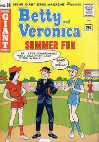 Cover Thumbnail for Archie Giant Series Magazine (Archie, 1954 series) #28