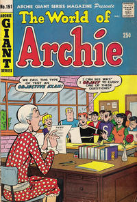 Cover Thumbnail for Archie Giant Series Magazine (Archie, 1954 series) #151