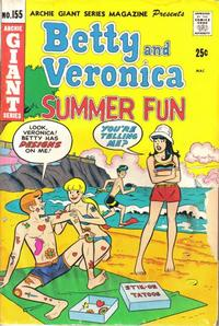 Cover Thumbnail for Archie Giant Series Magazine (Archie, 1954 series) #155