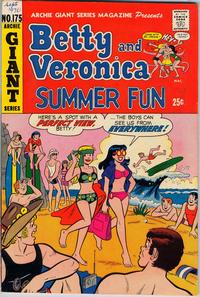 Cover Thumbnail for Archie Giant Series Magazine (Archie, 1954 series) #175