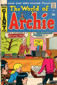 Cover Thumbnail for Archie Giant Series Magazine (Archie, 1954 series) #193