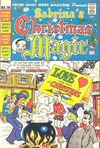 Cover Thumbnail for Archie Giant Series Magazine (Archie, 1954 series) #196
