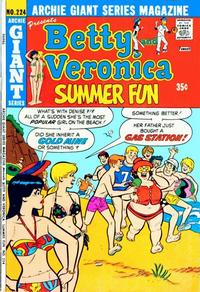 Cover Thumbnail for Archie Giant Series Magazine (Archie, 1954 series) #224
