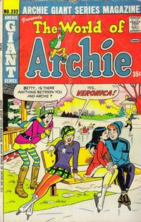 Cover Thumbnail for Archie Giant Series Magazine (Archie, 1954 series) #232