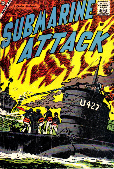 Cover for Submarine Attack (Charlton, 1958 series) #14