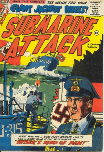 Cover for Submarine Attack (Charlton, 1958 series) #16