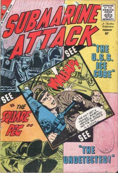 Cover for Submarine Attack (Charlton, 1958 series) #20