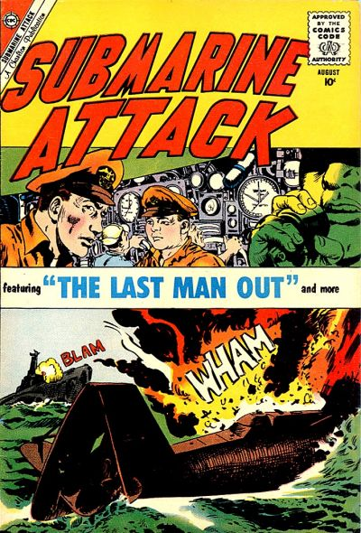 Cover for Submarine Attack (Charlton, 1958 series) #23