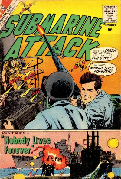 Cover for Submarine Attack (Charlton, 1958 series) #25