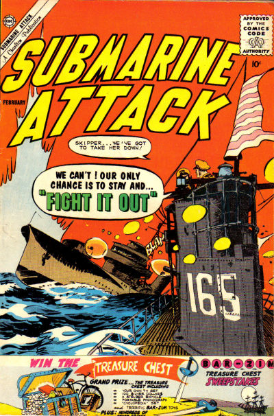 Cover for Submarine Attack (Charlton, 1958 series) #26