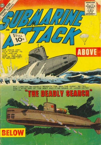 Cover for Submarine Attack (Charlton, 1958 series) #28