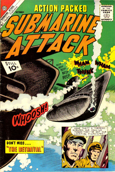 Cover for Submarine Attack (Charlton, 1958 series) #30