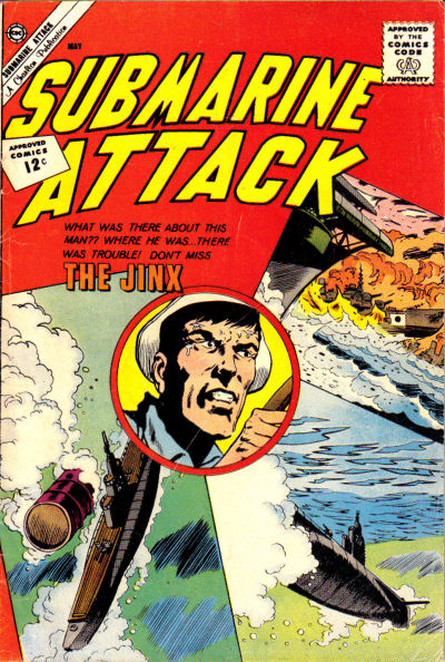 Cover for Submarine Attack (Charlton, 1958 series) #33